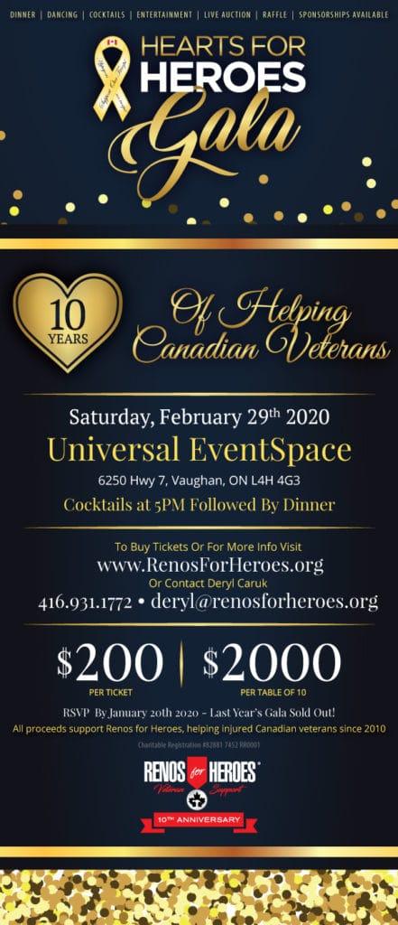 2020 Gala Invitation